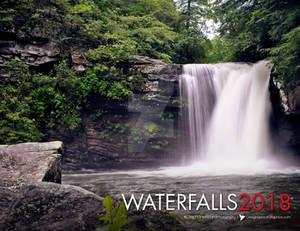 2018 Inspirational Quote Waterfall Calendar
