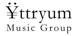 Yttryum Music Group Logo