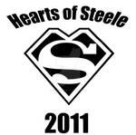 Hearts of Steele Marathon Tshirt