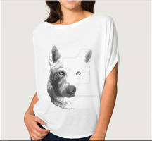 SilverTheHuskey Tshirt