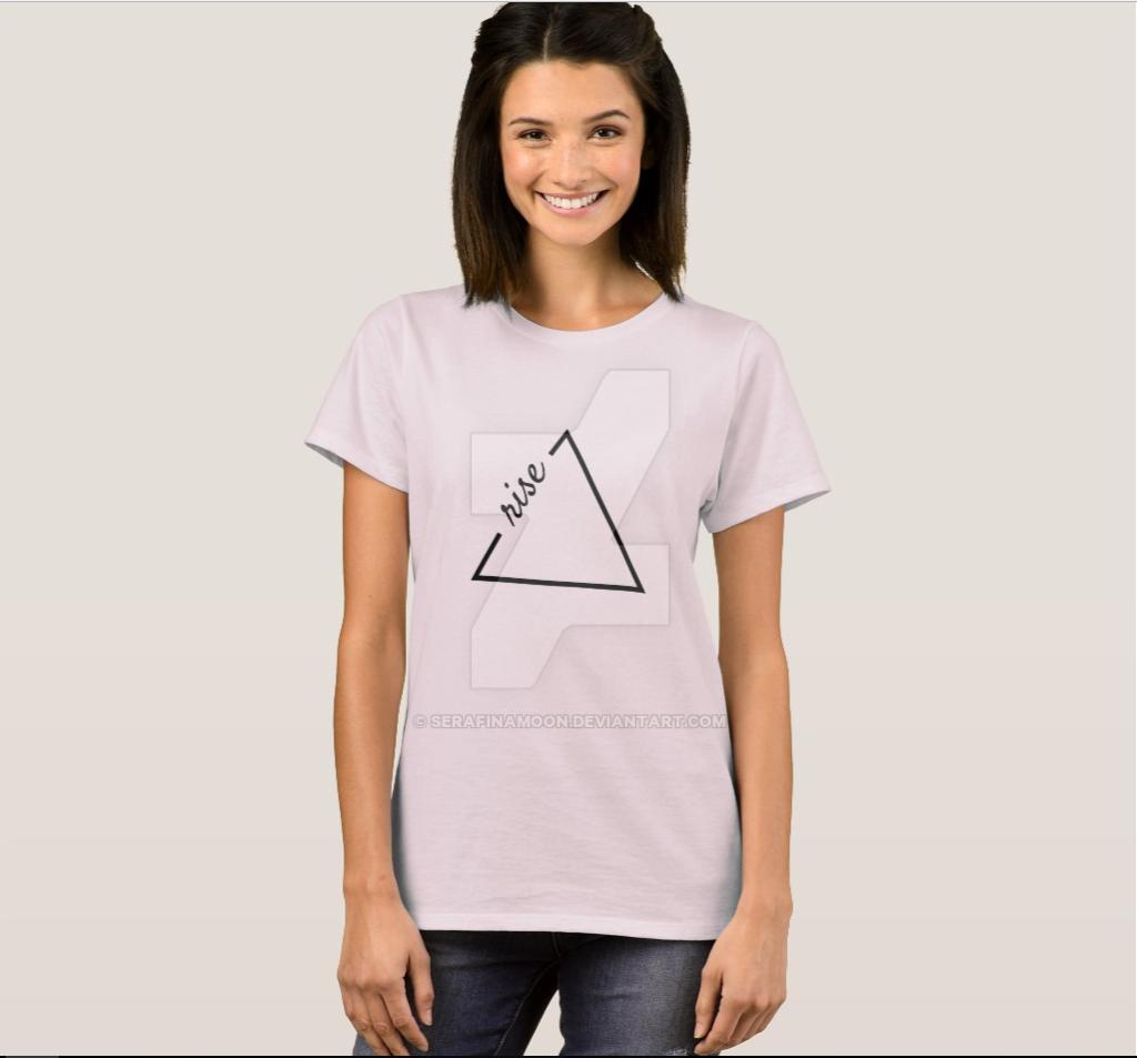 Rise T-shirt by SerafinaMoon