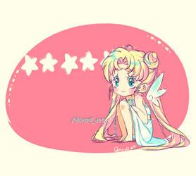 Postal Princess serenity (Fan Art) by Meruiiart