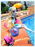 Monster High Lagoona Blue and the Pool