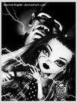 Monster High Frankie Stein and her Father