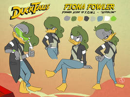 Fiona Fowler (Reference Sheet)