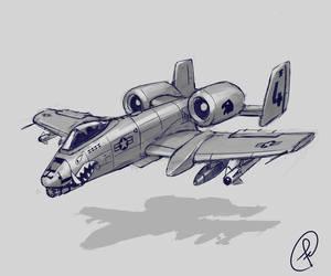 A-10 by Fernand0FC