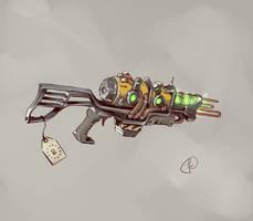 Plasma rifle (Green Goo) by Fernand0FC