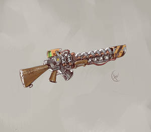 M72 Gauss rifle ''888''