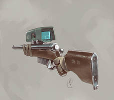 A hunting rifle ? by Fernand0FC