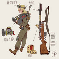 A explorer from the canada wasteland by Fernand0FC