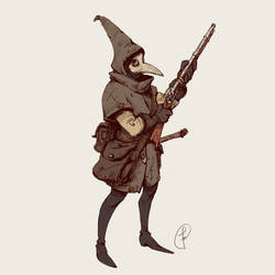 A huntress by Fernand0FC