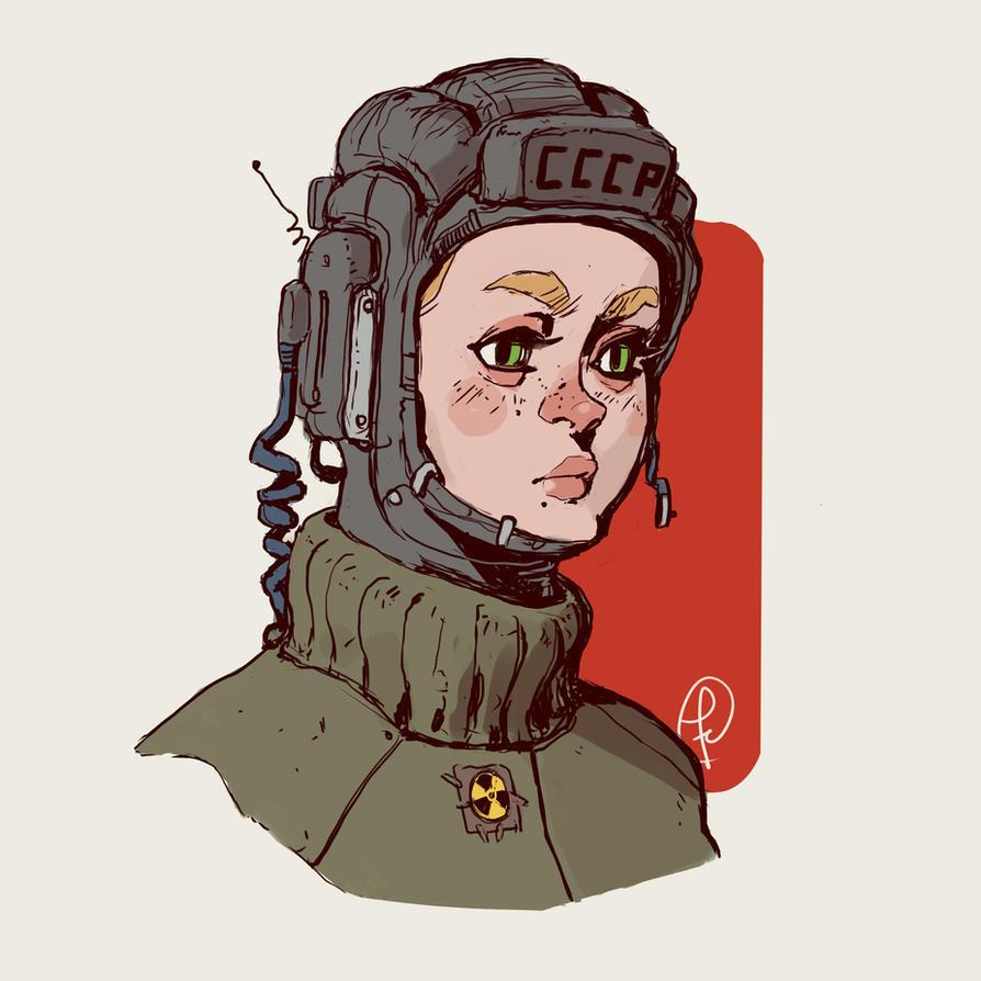 Portrait doodle by Fernand0FC