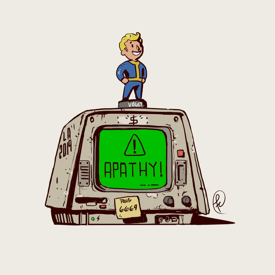The apathy is killing me by Fernand0FC