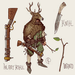 Hermit Hunter by Fernand0FC