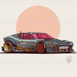 2077 De Tomaso Pantera by Fernand0FC
