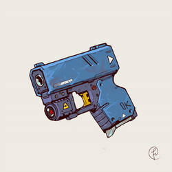 Compact personal defense gun