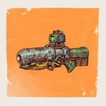 Lazer rifle