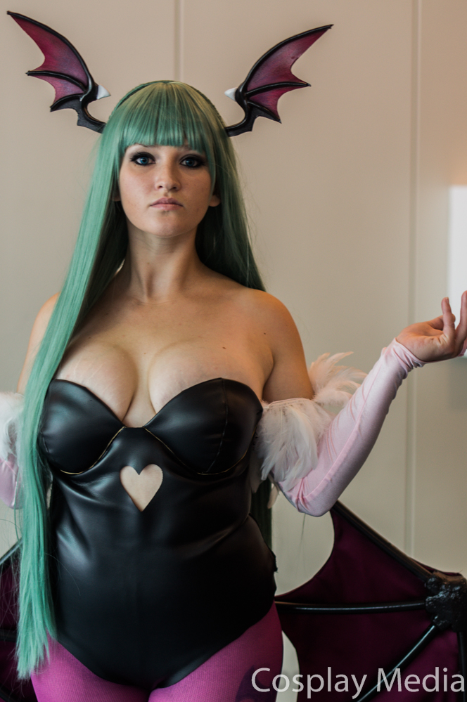 San Diego Comic-Con 2013 Morrigan by CosplayMedia