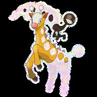 Mega Girafarig by Kottrman