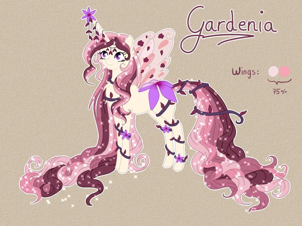 Queen Gardenia by Blumydia