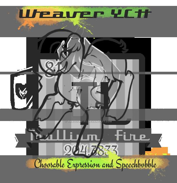Weaver Chibi YCH by Thalliumfire