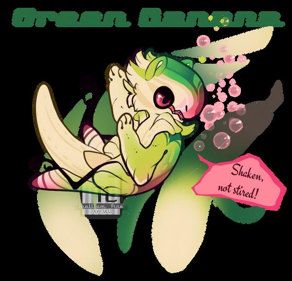 Green Banana (JR NameYourPrice, closed!) by Thalliumfire