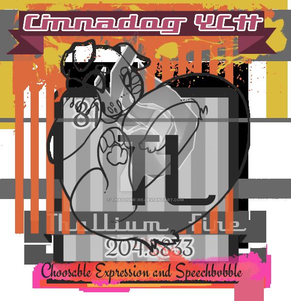 Cinnadog Chibi YCH by Thalliumfire