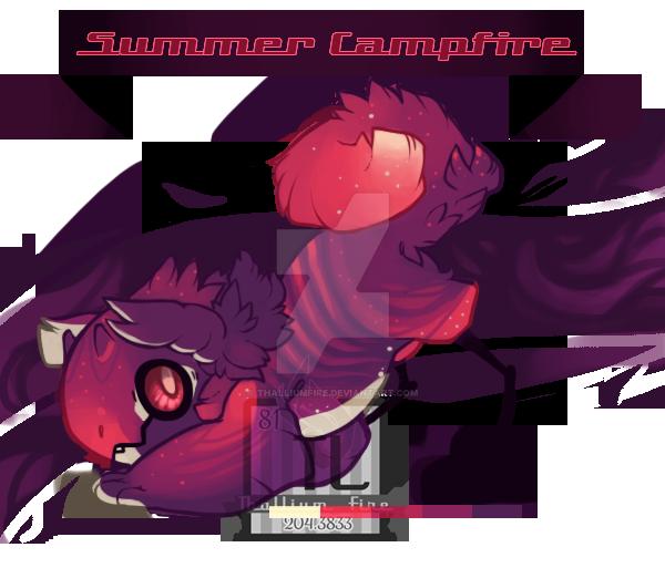 Summer Campfire (JR) by Thalliumfire