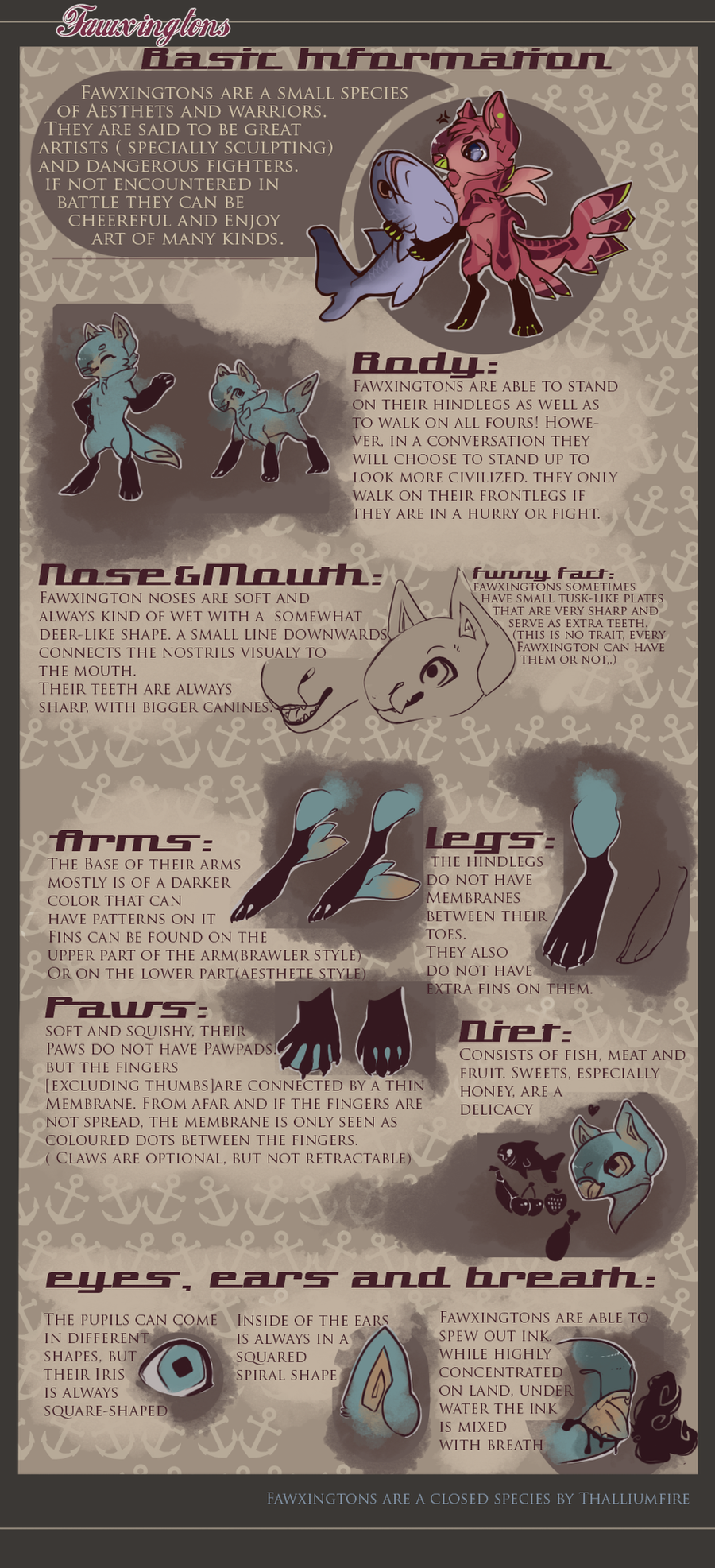 Introducing: Fawxingtons! (Infosheet) by Thalliumfire