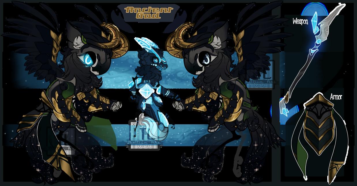 Ancient God ( Jr Special-Custom!!) by Thalliumfire