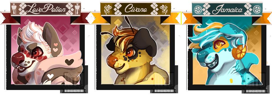 Moar cinna icons by Thalliumfire