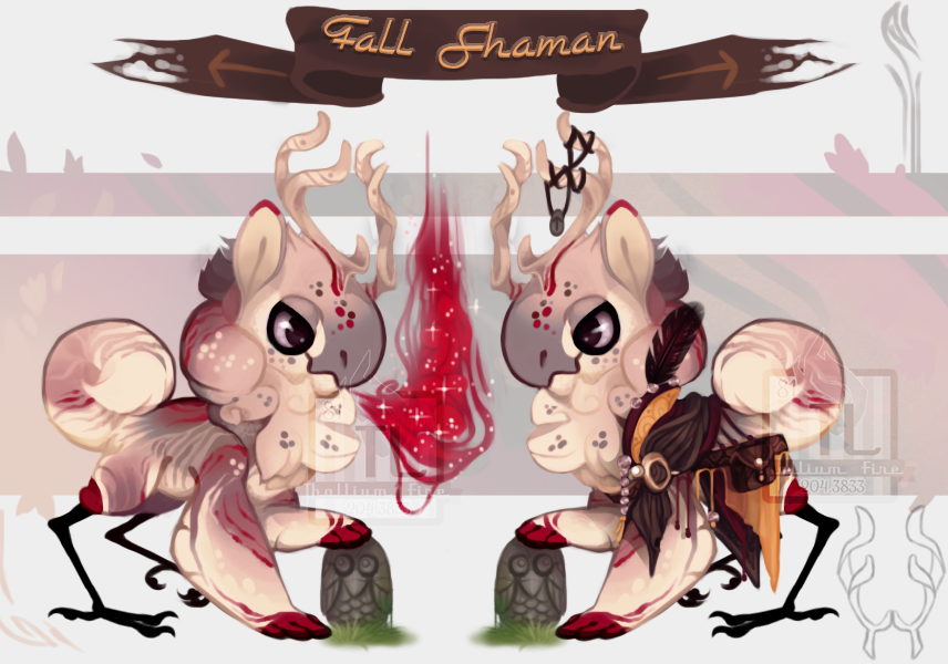 Fall Shaman ( JR OTA Closed) by Thalliumfire