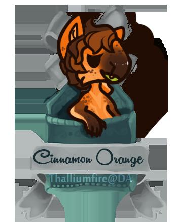 December 4 - CinnamonOrange FXT (teaser chibi) by Thalliumfire