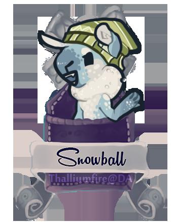 December 11 - Snowball (FXT teaser Chibi) by Thalliumfire