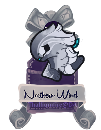 December 12 - Northern Wind (teaser Chibi) by Thalliumfire