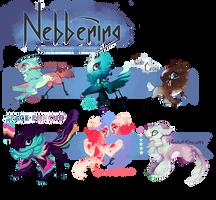 Nebbening! [Guest Artist Non Owner Batch] 1/6 by Thalliumfire