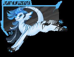 LightningZebra [Kami Auction OPEN] by Thalliumfire