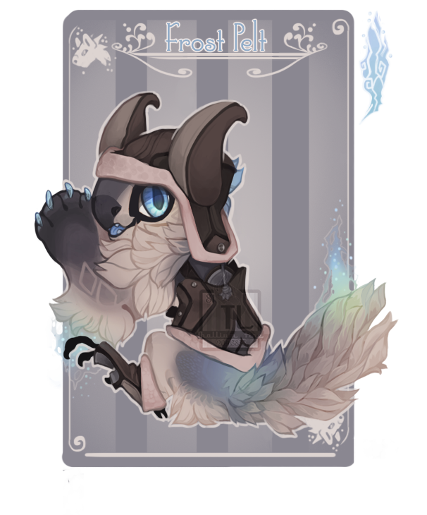 Advent 19 Frost Pelt by Thalliumfire