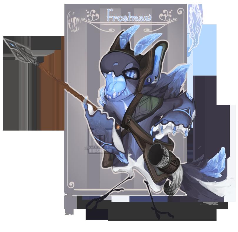 Day 22: FrostMaw [NN Advent] by Thalliumfire