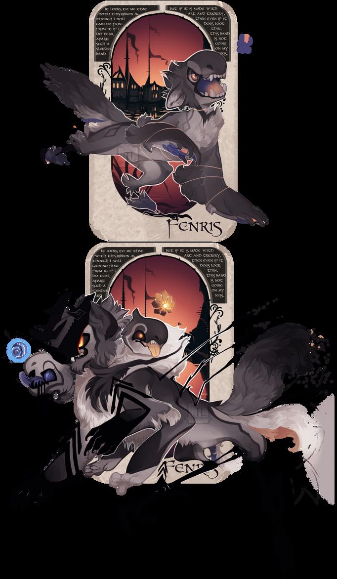 Fenriswolf [NN Custom] by Thalliumfire