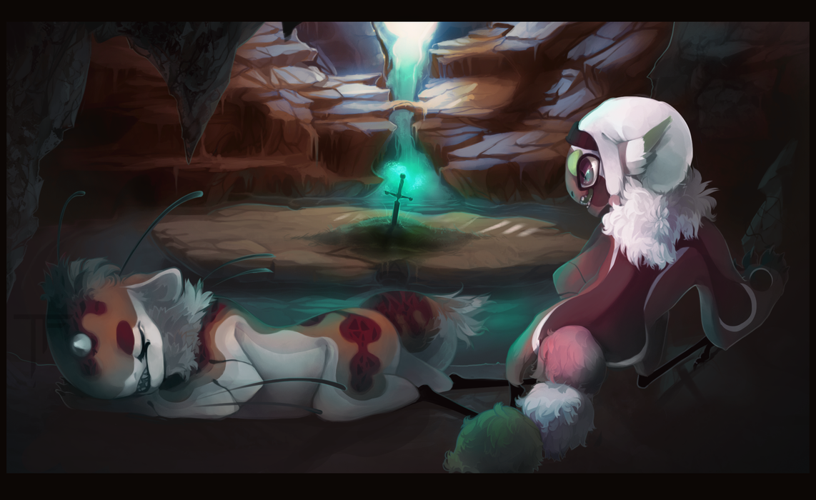 Cave Expedition [Comm] by Thalliumfire