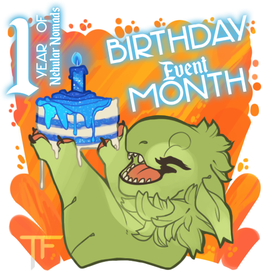 One Year NebNoms! Celebration-Event-Month![july] by Thalliumfire