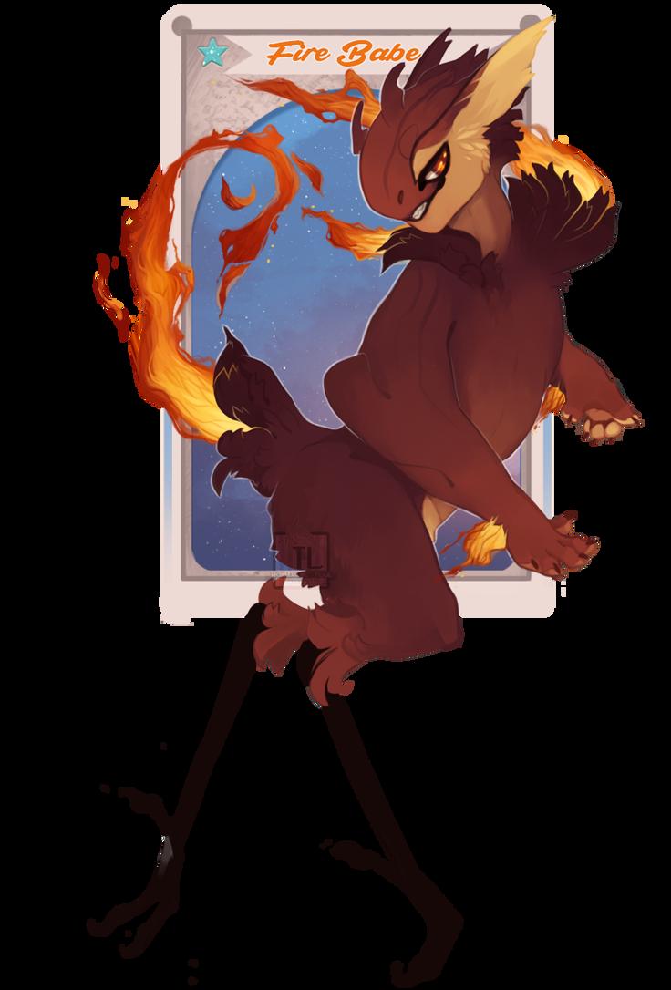 Fire Babe [O VU] by Thalliumfire