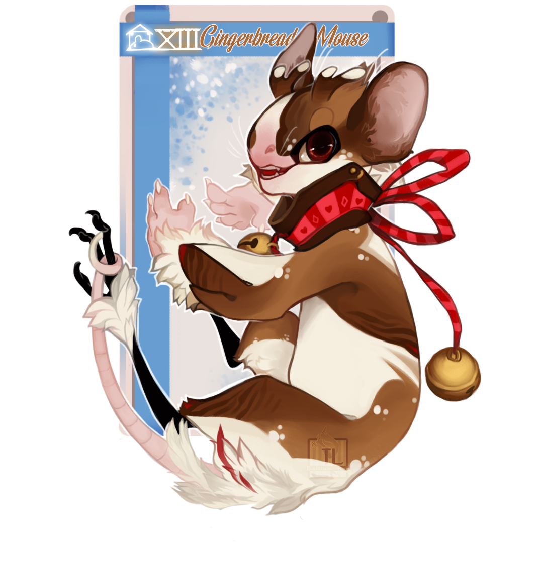 NebVent 13: Gingerbread Mouse by Thalliumfire