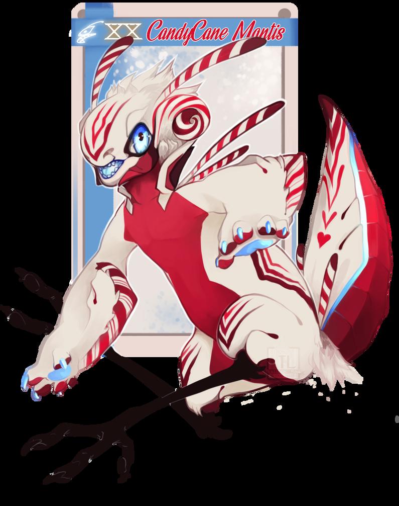 NebVent, Day 20: CandyCane Mantis by Thalliumfire