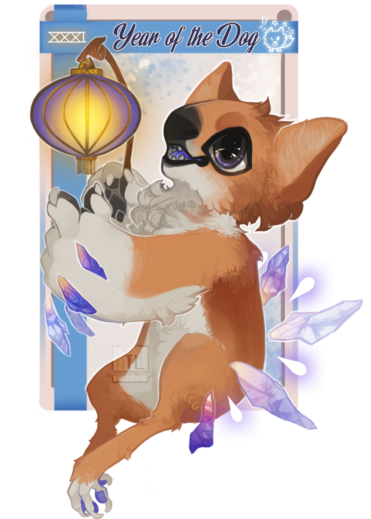 NebVent 2017, Day 31: Year of the (earth) Dog by Thalliumfire