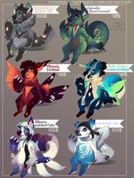 Cinnadogs: Mythological Creatures2 1/6 open by Thalliumfire