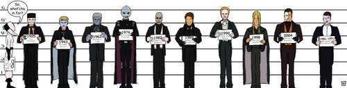 Film Phantom Lineup by SilverDrgnbane