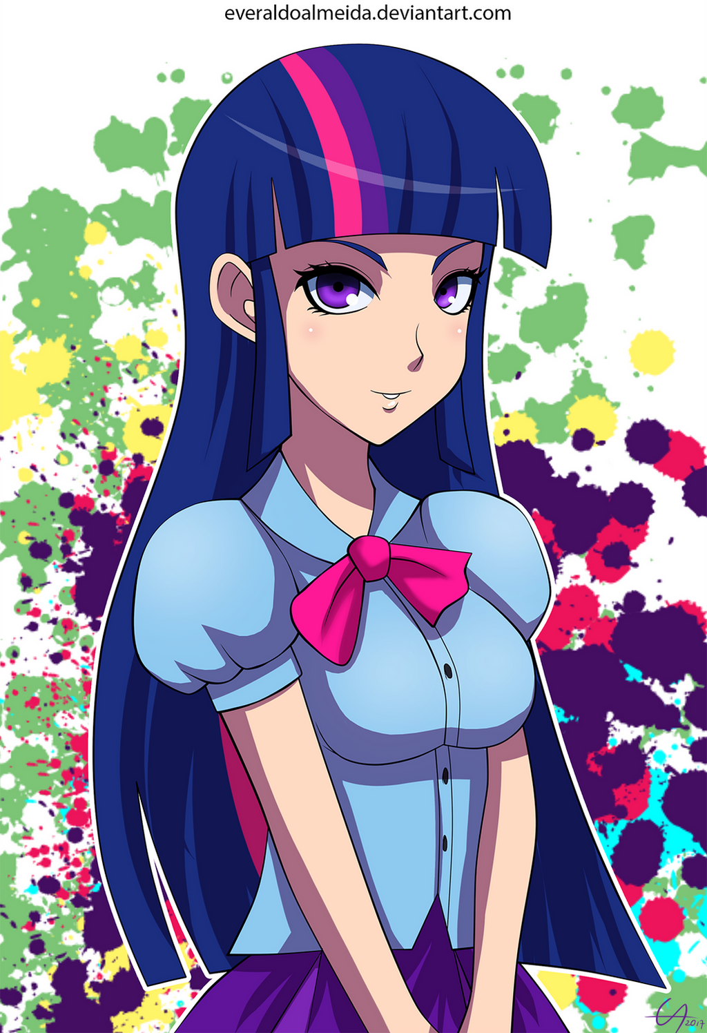 MLP - Human Twilight Sparkle by draftkid