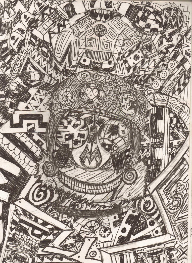 Oh look, Line Art by Screwless-Skeleton